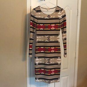 Gently Used Gianni Bini Long sleeved Dress